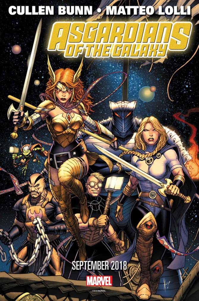 asgardians of the galaxy avengers