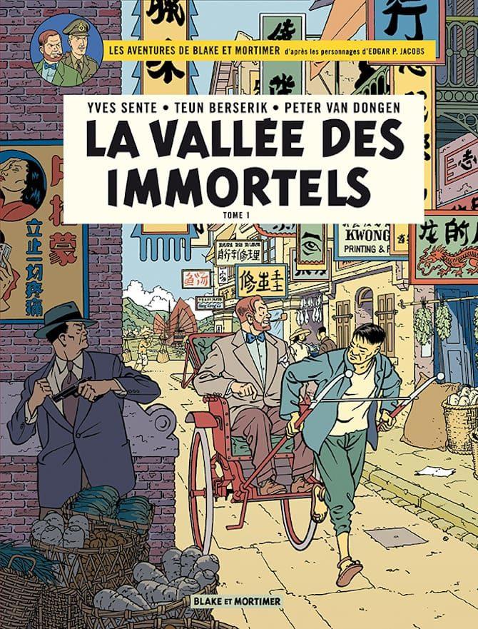 blake mortimer fumetti valle degli immortali