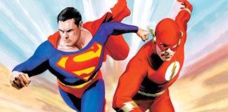 veloce flash superman fumetti dc comics