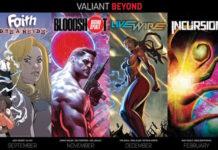 valiant beyond fumetti