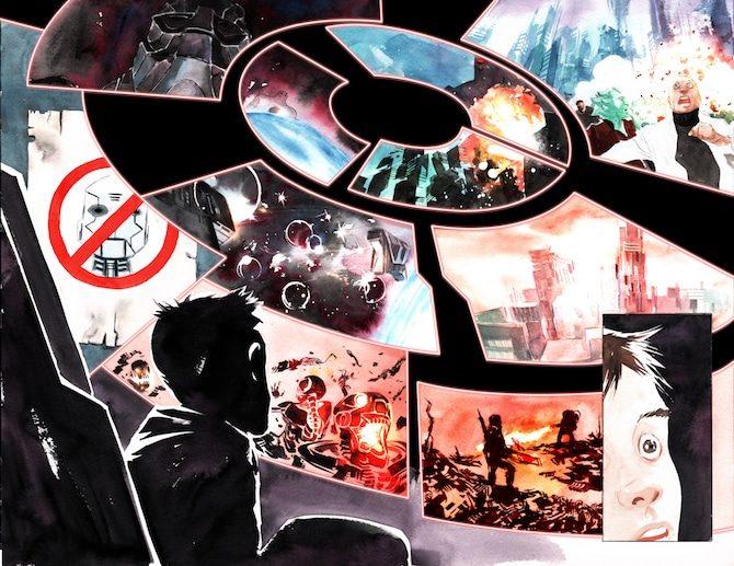 """Descender"""": la fantascienza di Lemire che dialoga con Spielberg -  Fumettologica"""