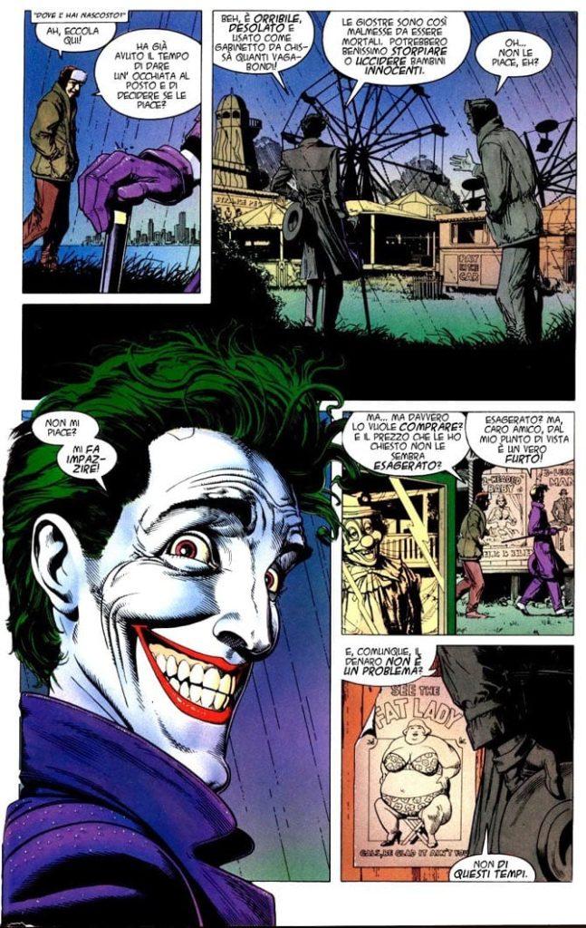 batman killing joke joker fumetti