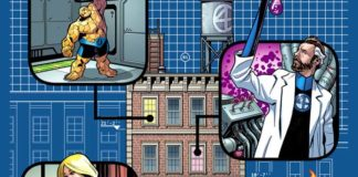 fantastici quattro base fumetto marvel