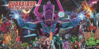 guardiani galassia nuovo fumetto marvel