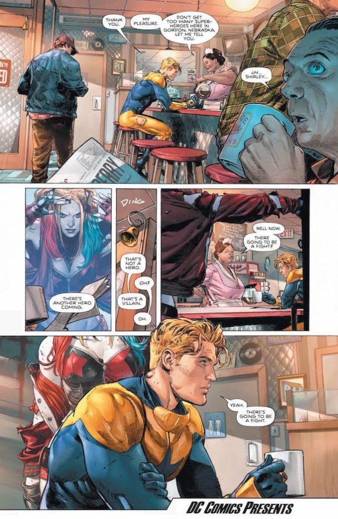 eroi in crisi fumetto dc comics