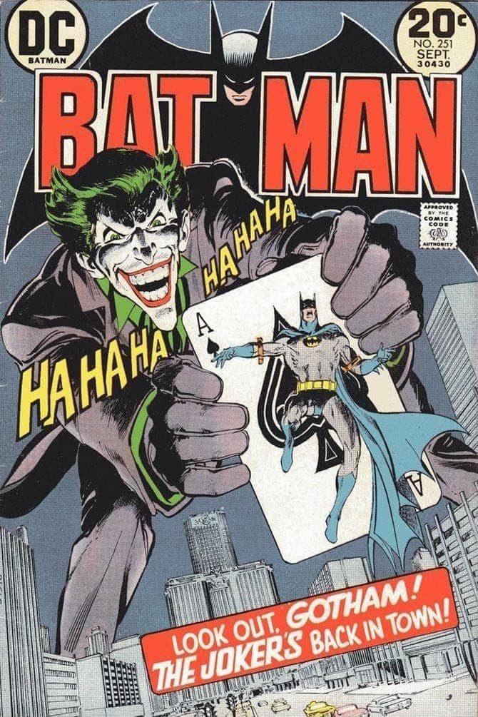 batman uccide joker neal adams
