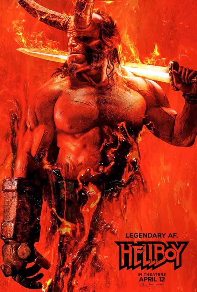 recensione hellboy film 2019