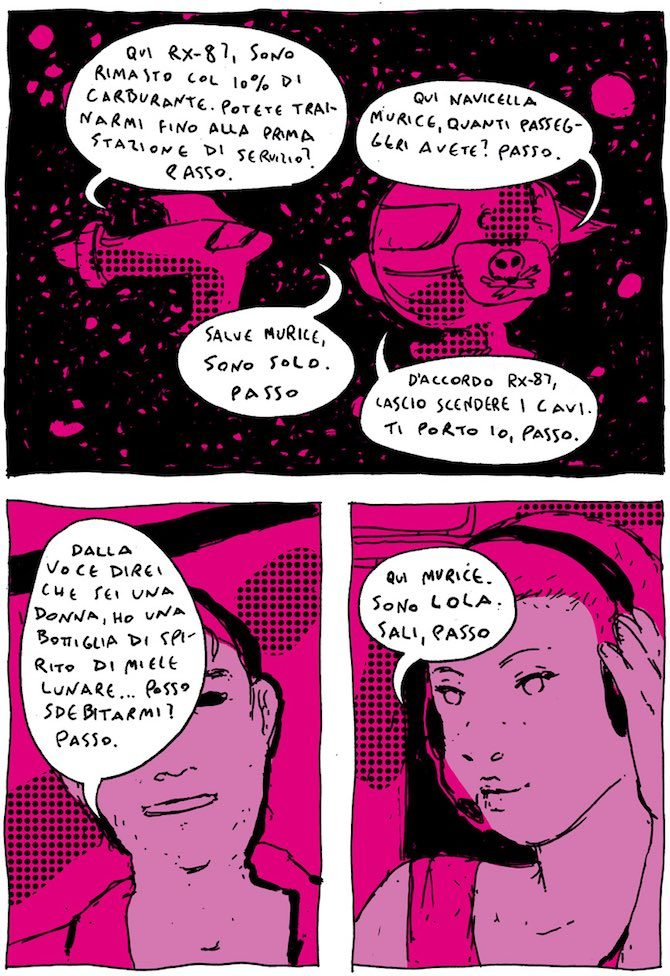 materia degenere fumetti