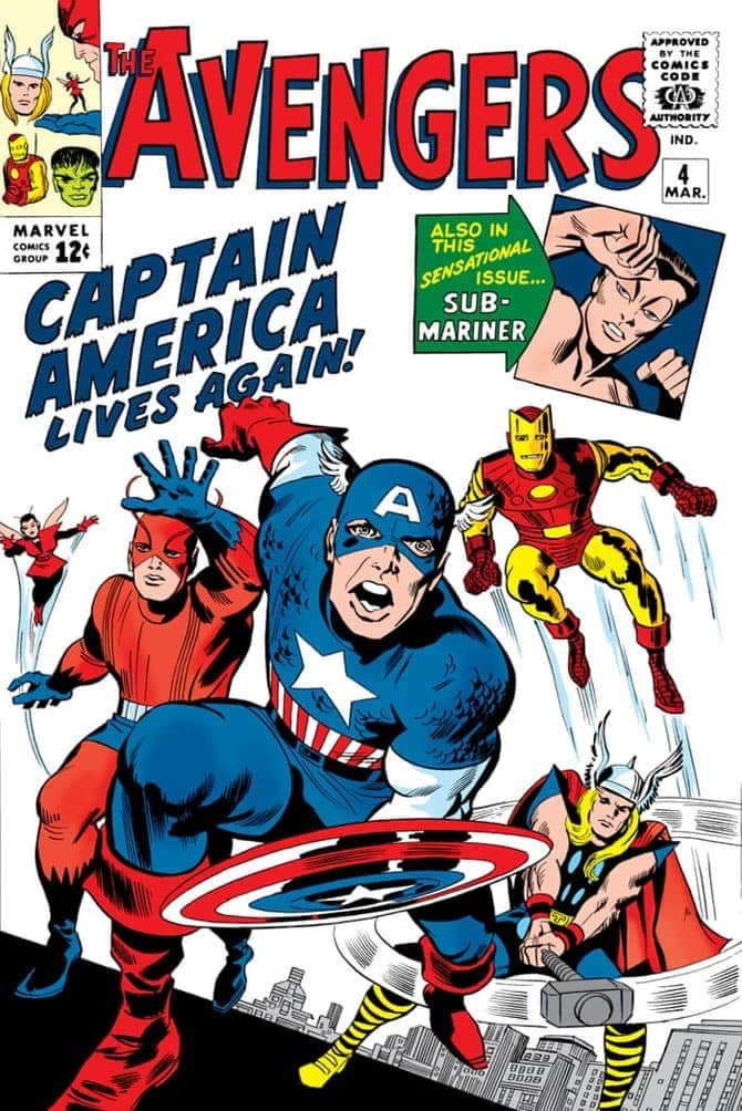 avengers 4 capitan america