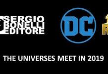crossover bonelli dc comics rw lucca comics 2018