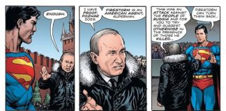 vladimir putin doomsday clock dc comics fumetto