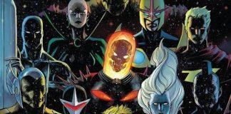 nuovi Guardiani della galassia fumetto marvel