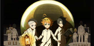 promised neverland anime