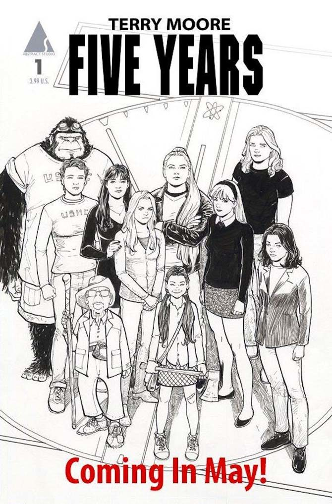 five years terry moore