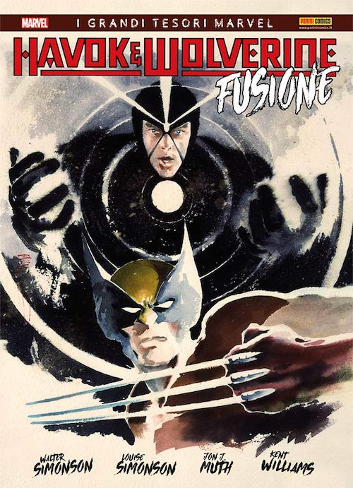 havok wolverine fusione fumetto marvel