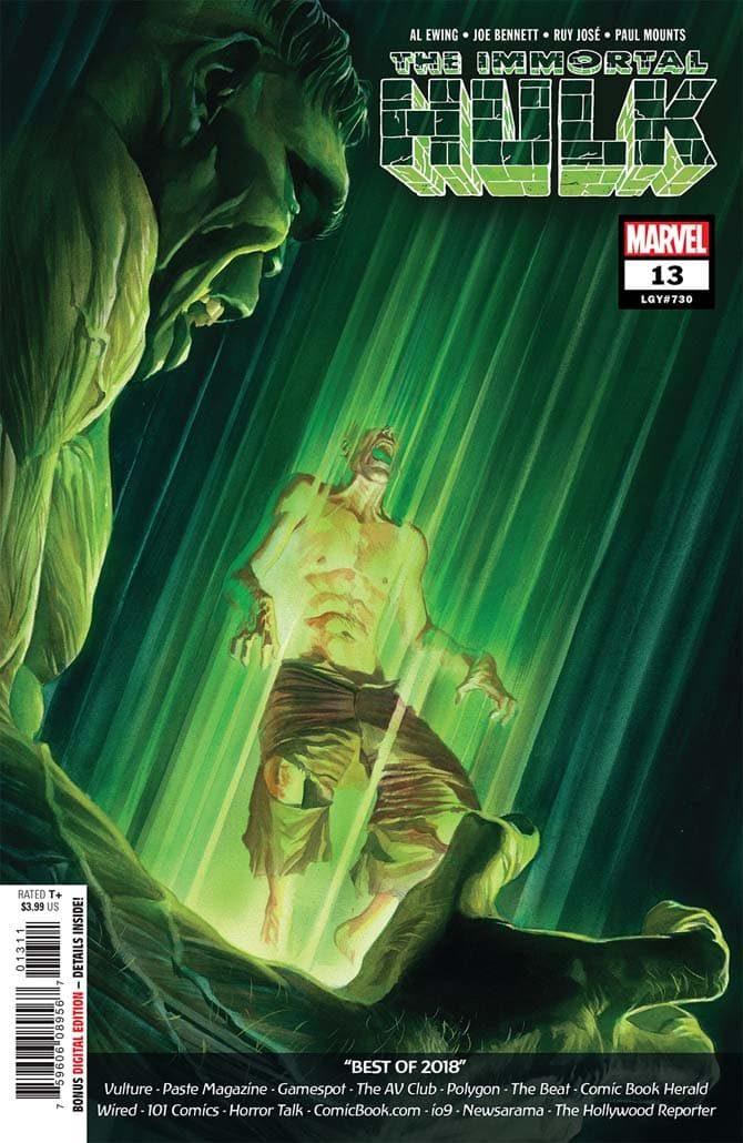 immortal hulk 13 fumetto marvel