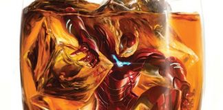 iron man alcol fumetto marvel