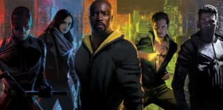 marvel netlflix daredevil jessica jones punisher iron fist luke cage