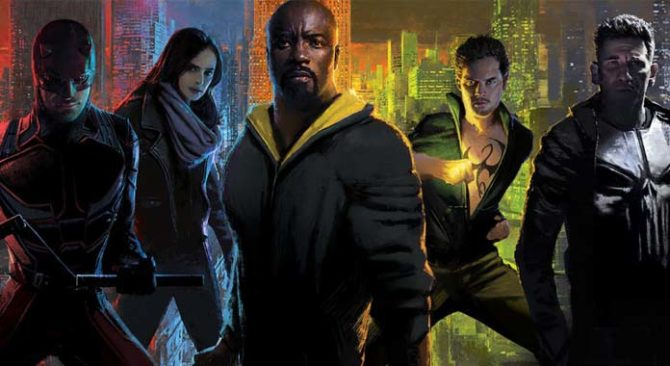 marvel netlflix cancellazioni daredevil jessica jones punisher iron fist luke cage