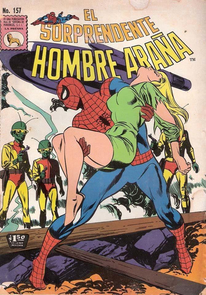 sorprendente hombre arana spider-man messicano