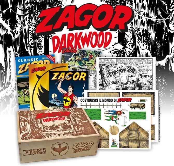 zagor darkwood box bonelli
