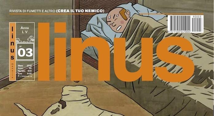 """Cosa c'è su """"Linus"""" di marzo 2019 - Fumettologica"""