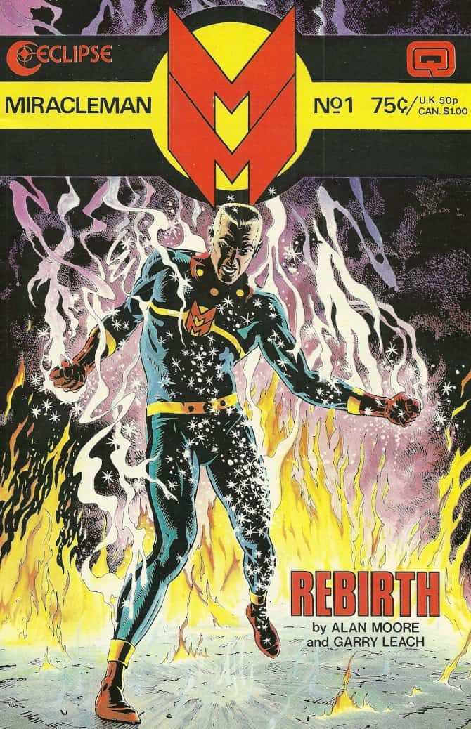 captain marvel miracleman alan moore