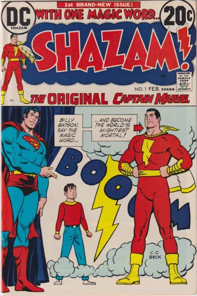 captain marvel shazam fumetti dc comics