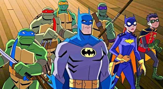 Il trailer del film animato di batman contro le tartarughe ninja