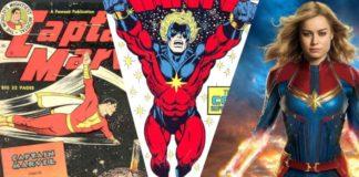 captain marvel fumetti