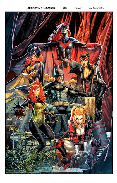 detective comics 1000 copertine