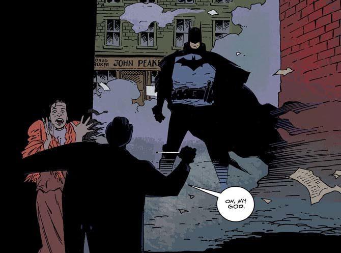 gotham by galight mike mignola fumetto batman