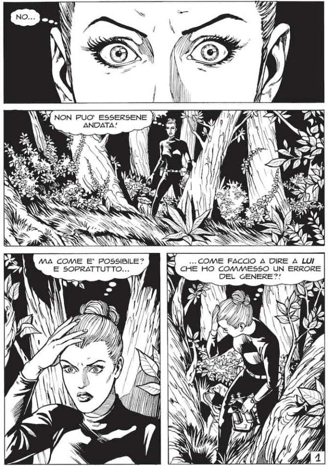 grande diabolik donne fumetti