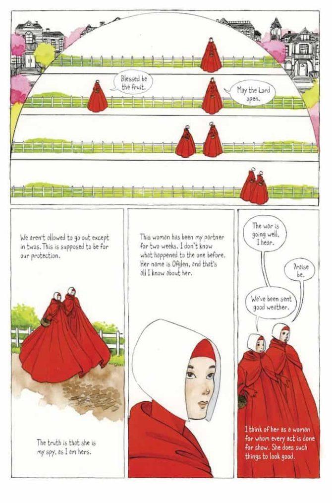 Handmaids Tale fumetto