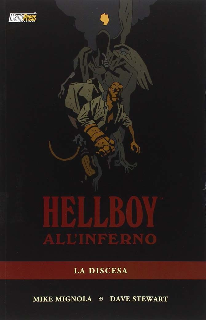 hellboy fumetto mike mignola hellboy all'inferno la discesa