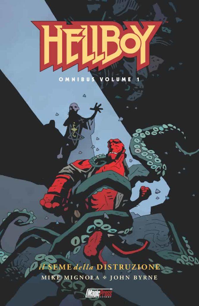 hellboy omnibus magic press fumetti