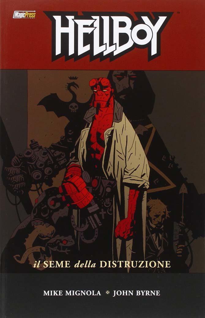 hellboy fumetto mike mignola seme della distruzione