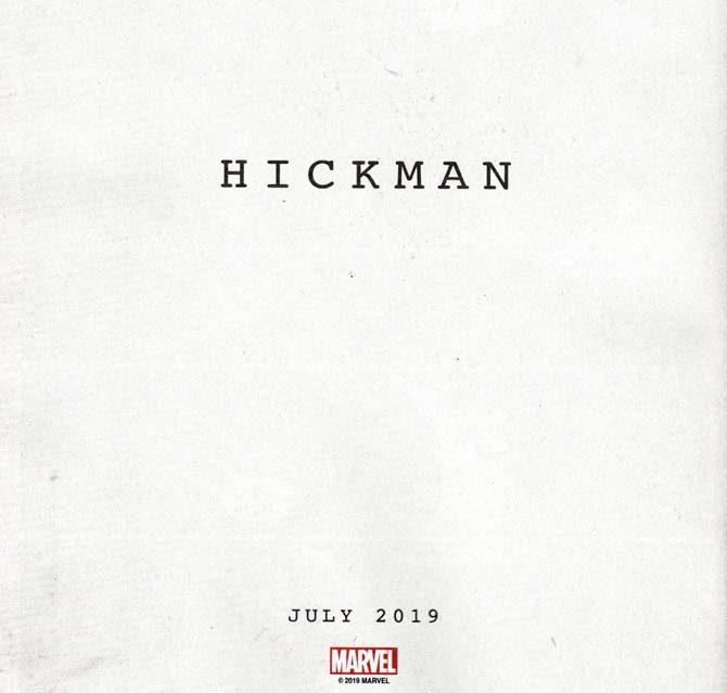 hickman marvel