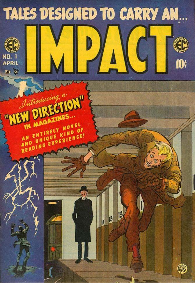 impact master race fumetto ec comics