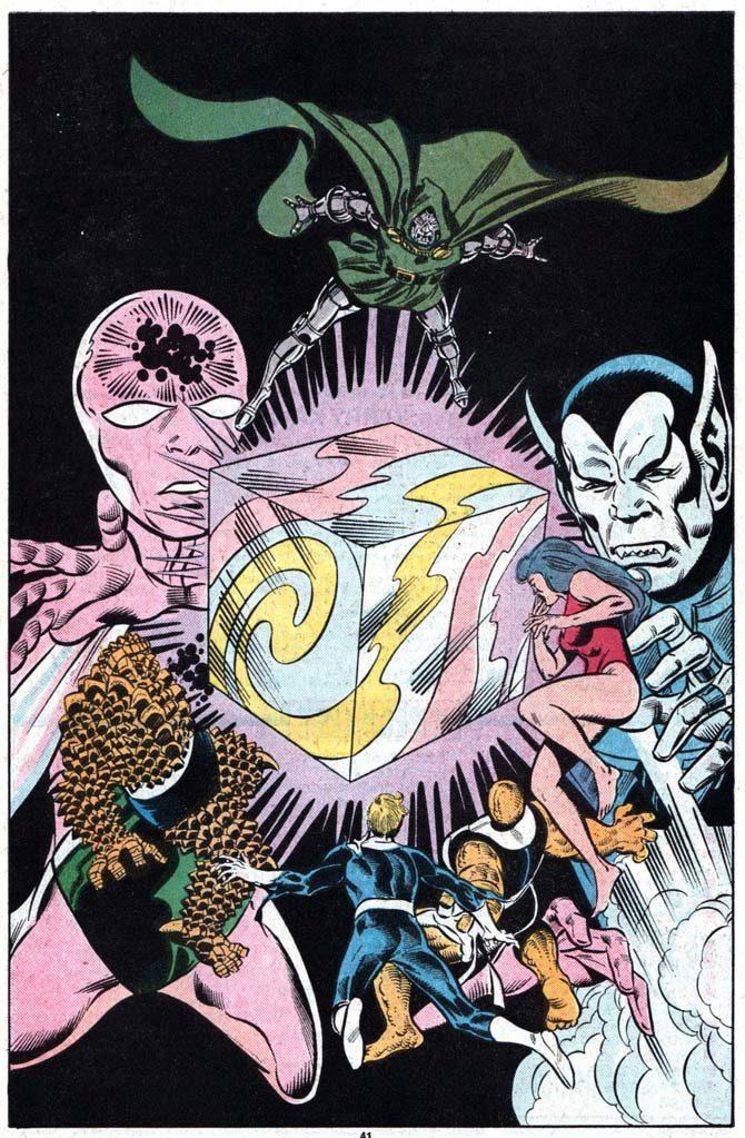 tesseract cubo cosmico fantastici quattro fumetti marvel