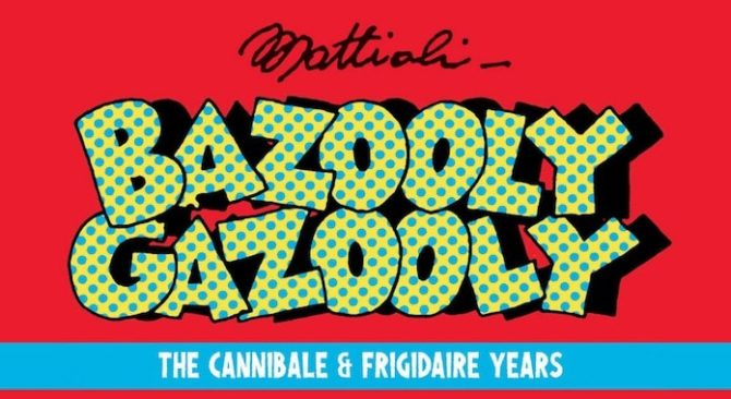 massimo mattioli napoli comicon Bazooly Gazooly