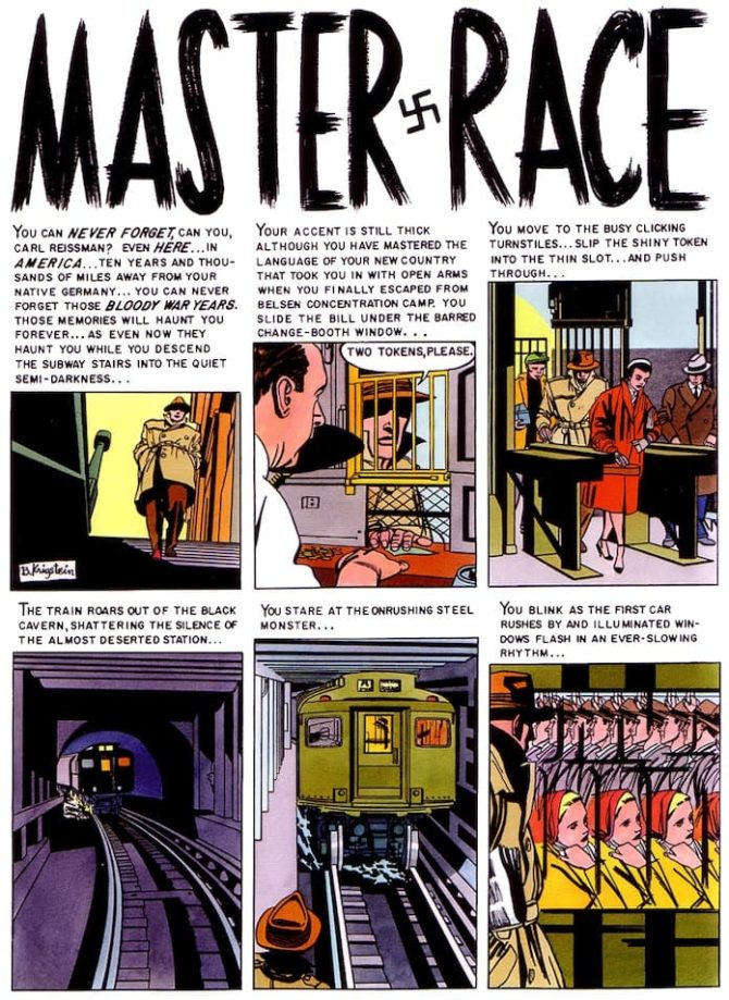 Bernard Krigstein master race fumetto comics