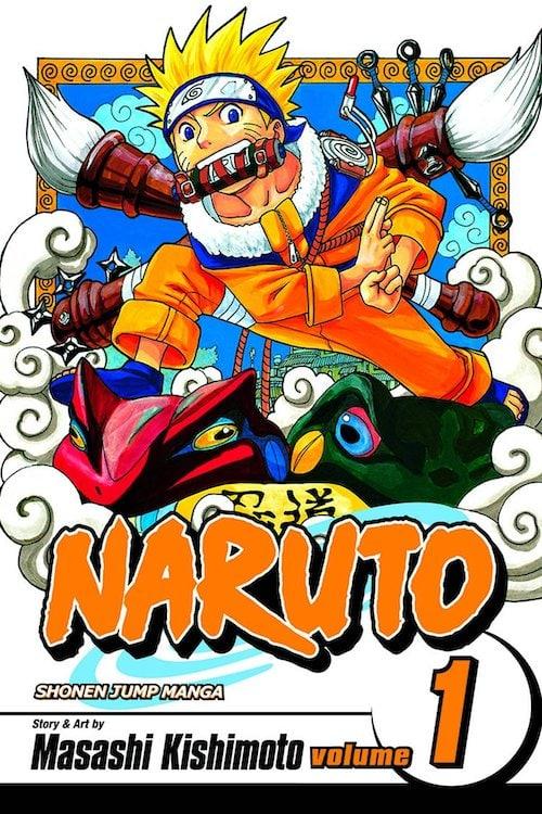 naruto manga fumetti 1999