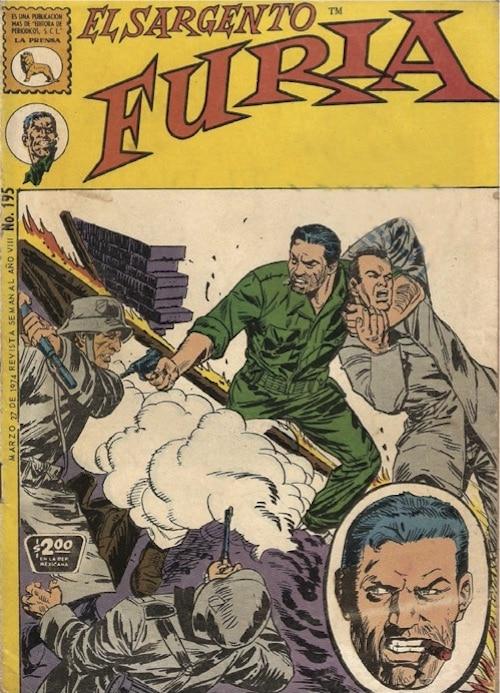 sargento furia fumetti marvel apocrifi