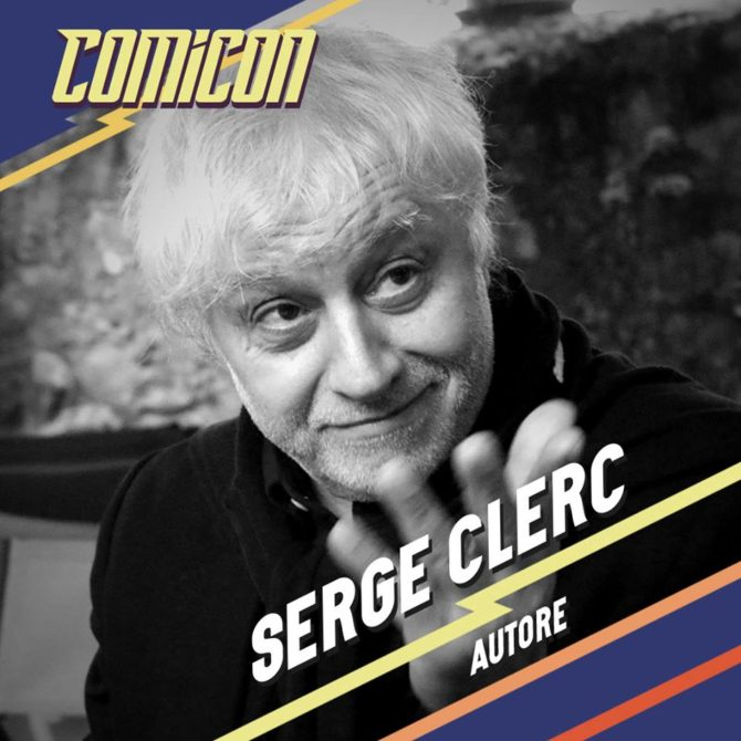 serge clerc comicon