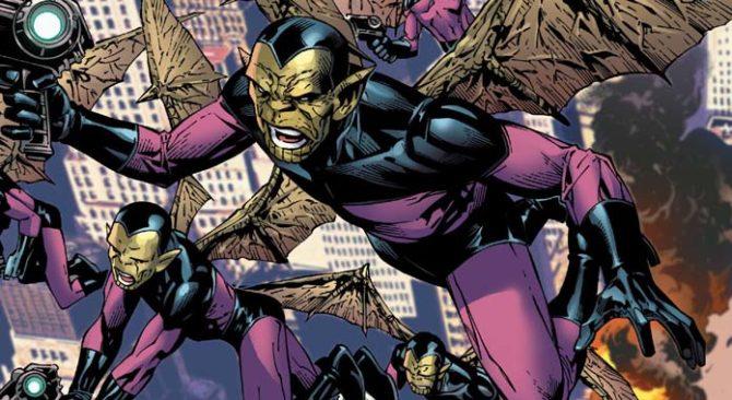skrull marvel fumetti captain marvel