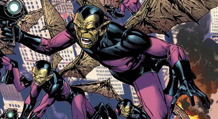 Chi sono gli Skrull, gli alieni nemici di Capitan Marvel