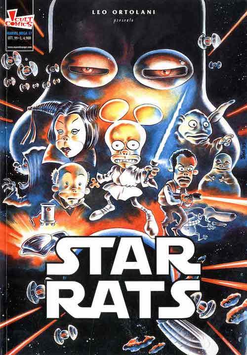 star rats leo ortolani fumetti 1999