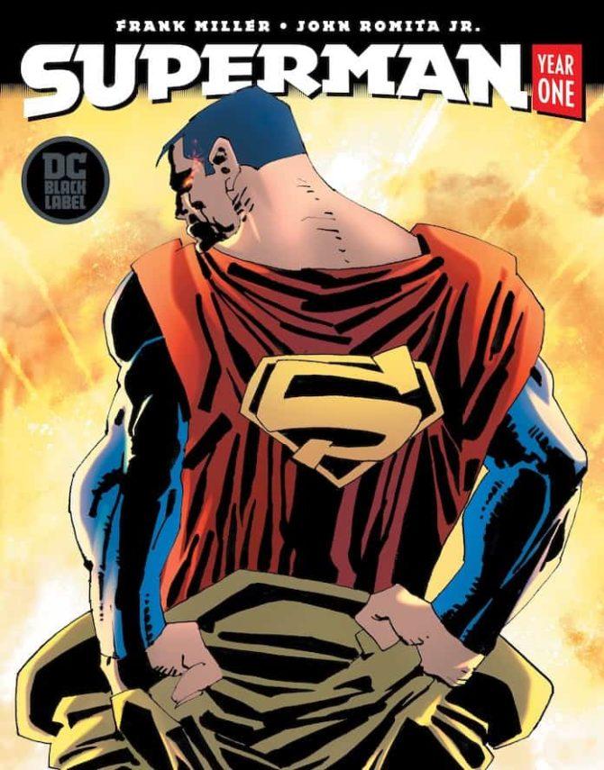 Superman Year One frank Miller john romita jr dc comics fumetto