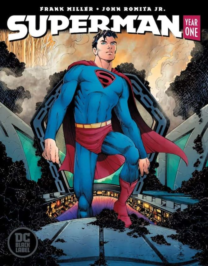 superman year one fumetto dc comics frank miller john romita jr